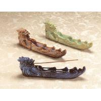 Glazed Porcelain Feng Shui Dragon Incense Burners