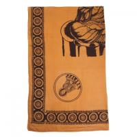 Feng Shui Buddha Design Bed Sheet