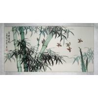 Feng Shui Chinese Bamboo Painting